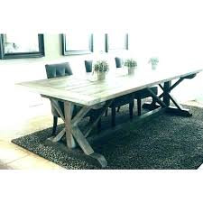 grey wood round dining table large black espresso romeo size of weathered gray t