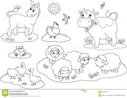 Small Picture Coloring Pages Farm Animals Colouring Pages Kids Coloring Europe