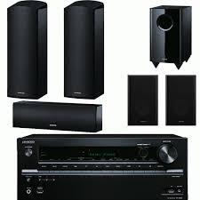 onkyo bookshelf stereo system. onkyo 5.1. dolby atmos surround sound system with amplifier, speakers \u0026 sub bookshelf stereo