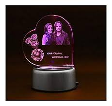 fusion crystals personalised 3d photo crystal birthday gift personalized gifts wedding anniversary gift wedding gifts for couple at low