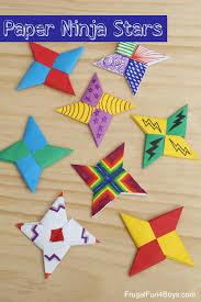 How To Fold Paper Ninja Stars
