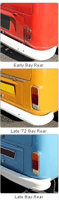 vw t2 bay window vehicle model history just kampers quick guide to help identification of vw t2 transporters