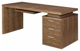 modern home office desks. Awesome Modern Home Office Desks In Temahome Flow Desk Wild Oak Top With Black Or A