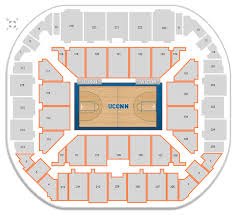 Which Sections Have Seatbacks At Gampel Pavilion