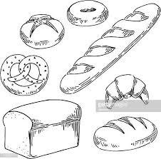 60点のパンのイラスト素材クリップアート素材マンガ素材アイコン