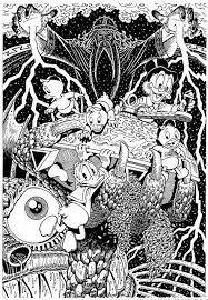 Small Picture Complicated Coloring Sheets Alice In Wonderland Coloring