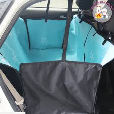 rear double car seat cover for pets