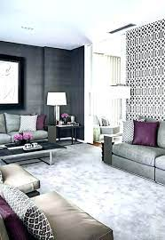 ideas grey feature wall living room