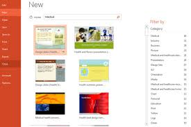 Powerpoint 2013 Template Location New Templates In Microsoft Powerpoint 2013 Office 15