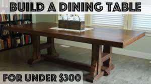 Diy Dining Table Pottery Barn Inspired Farmhouse Table Youtube