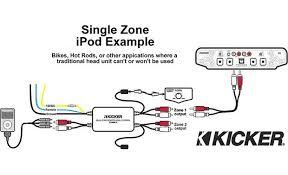 kicker marine dual zone level control two volume controls for a kicker marine dual zone level control wiring diagram 3