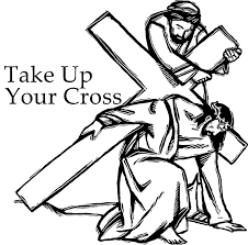 cross pictures to color.  Cross Take Up Your Cross Coloring Page  Throughout Pictures To Color O