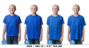 Youth Extra Small T Shirt Size Chart Teepublic Uk