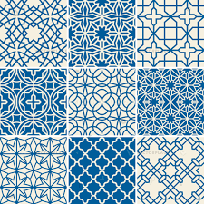 Arabic Pattern Turkish Texture Vector Semless Patterns Islamic Arabic Repetitive Backgrounds Set Illustration Of Arabic Patterns Collection