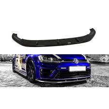 Maxton Design Lip Spoiler Maxton Design Front Splitter Vw Golf R Mk7 Aet Motorsport