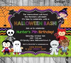 printable invitations for kids kids halloween party flyer dolap magnetband co