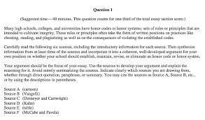 Example Of A Response Essay Expert Guide To The Ap Language And Composition Exam