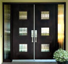contemporary front doors after