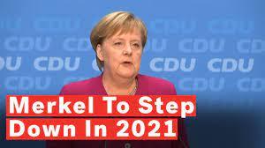 Angela Merkel Stepping Down As German ...