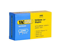 Arrow Staple Size Chart Tacwise Type 53 10mm Galvernised Staples For Staple Gun Pack Of 5000