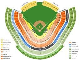 Dodger Stadium Seating Chart Infield Reserve Los Angeles Dodgers Tickets At Dodger Stadium On June 18 2020 At 7 10 Pm