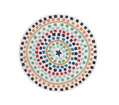 star dot round rug