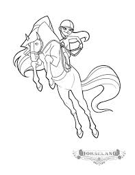 Small Picture Printable 28 Horseland Coloring Pages 9446 Scarlet And Sarah
