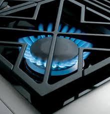 gas range burner. Modren Burner Simmer Monogram ZGP304NRSS  18000 BTU DualFlame Stacked Burner  Inside Gas Range E