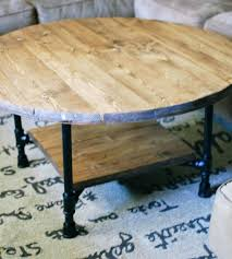 round coffee table with shelf reclaimed wood round coffee table with shelf home furniture southern 2 round coffee table with shelf