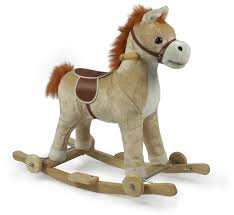 butternut wooden rocking horse