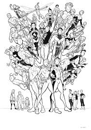 Legion Of Superheroes By Bevismusson Deviantart