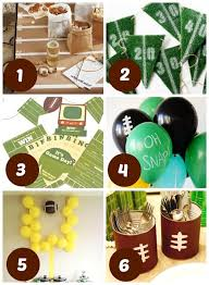 Super Bowl Party Decorating Ideas 60 Super Bowl Party Ideas 45