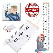 Child Height Chart For Wall Wall Growth Chart Wall Hanging Height Chart For Baby Wall