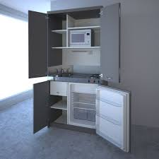 office kitchen. a small kitchen that can be hidden away and concealed behing doors like cupboard when office l