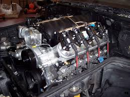 ls engine swap for c4 corvettes cc tech the ls2 looks like it belongs in the 85 s engine bay factory radiator hose positioning