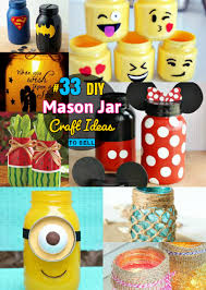 Cute Jar Decorating Ideas DIY Mason Jar Crafts 100 Mason Jar craft Ideas Even You Can Sell 53