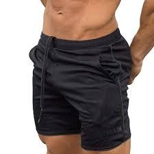 Men's Sports Training Bodybuilding <b>Summer Shorts</b> Workout Fitness ...