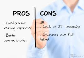 pros and cons of blended learning blog pros and cons of blended learning