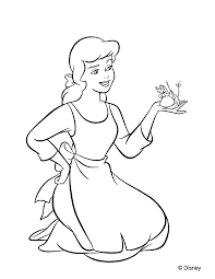Here's a coloring page of cinderella, the ultimate disney princess. Disney Princess Coloring Pages To Print Or Do Digitally Theme Park Professor