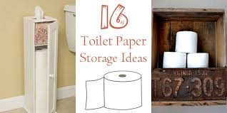 Enchanting Toilet Paper Storage Cabinet with 16 Practical And Creative Toilet  Paper Storage Ideas