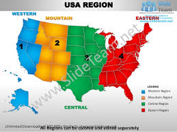 Usa Map For Powerpoint Usa Western Region Country Editable Powerpoint Maps With