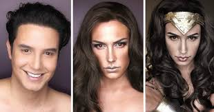 filipino actor wows gal gadot with his awesome wonder woman make up transformation