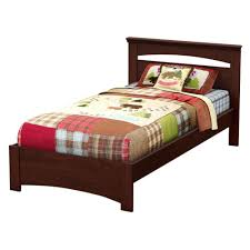 South Shore Libra Royal Cherry Twin-Size Complete Bed-3246189 - The ...