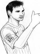 Small Picture Lionel Messi Coloring Pages Lionel Messi Coloring Page Messi
