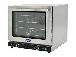 atosa crcc 50s half size countertop convection oven with broiler and steam injection