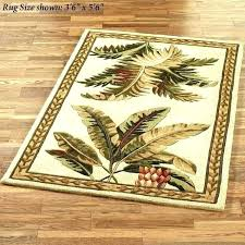 tropical outdoor rugs palm tree rug awesome leaf tropical fish outdoor rugs in area popular round