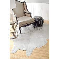 10 contemporary cowhide rugs 2016 best patchwork faux white cowhide rug ikea