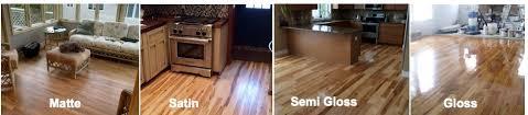 matte vs satin hardwood floors
