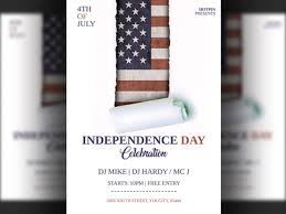 4th July Independence Day Flyer Template By Hotpin Dribbble Dribbble