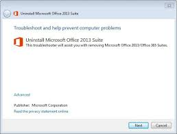 office uninstaller how to uninstall microsoft office 2013 or office 365 ghacks tech news